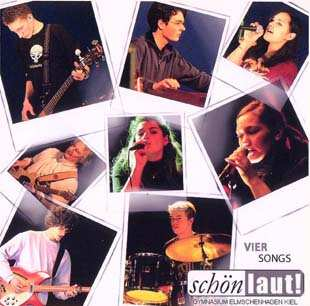 VIER SONGS Front-Cover